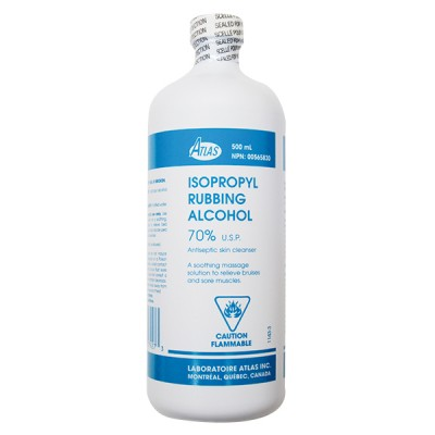 Alcool Isopropylique 70 % 500 ml