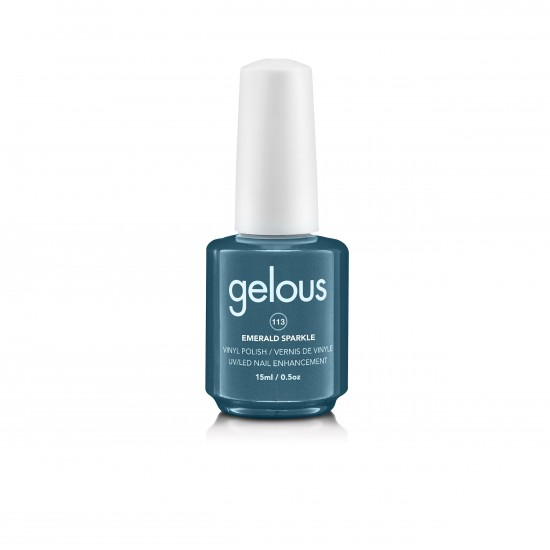Gelous Vinyl # 113 Emerald Sparkle 15 ml