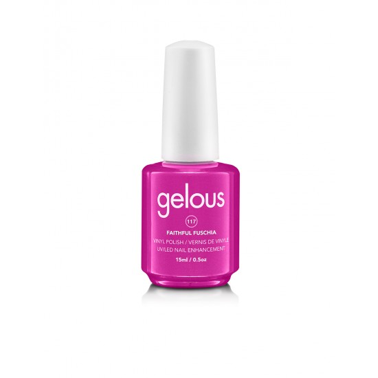 Gelous Vinyl # 117 Faithful Fuschia 15 ml