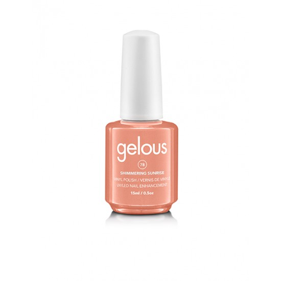 Gelous Vinyl # 078 Shimmering Sunrise 15 ml
