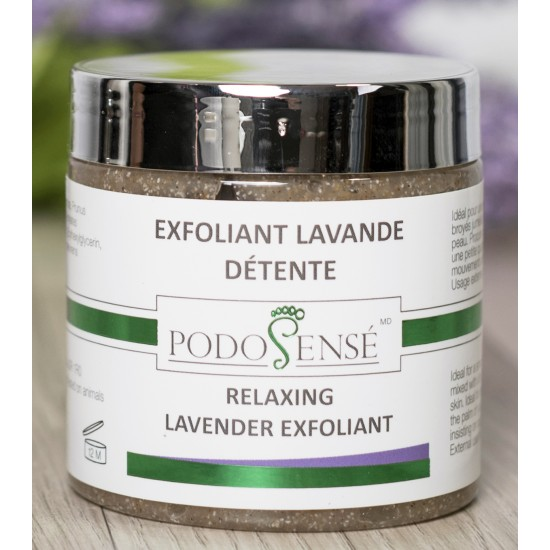 Gel Exfoliant Détente -  Lavande & Cyprès 200 mL